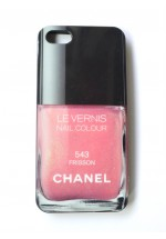 CARCASA LE VERNIS CHANEL iPHONE 4-4S